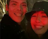 向佐郭碧婷深夜赏雪